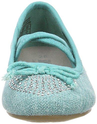 Indigo Schuhe 422 223, Bailarinas con Punta Cerrada Para Niñas turquesa