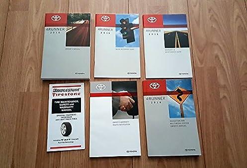 2016 toyota 4runner owners manual toyota amazon com books rh amazon com 4runner owners manual 2015 4runner owners manual 2017