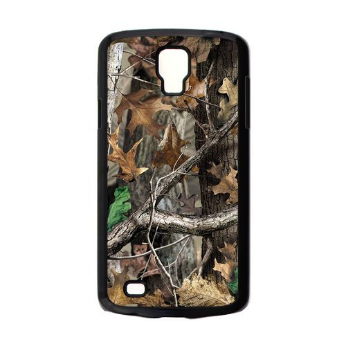 Funny Gift Camo Adv Mossy Oak Tree Hunting PVC and Rubber Samsung Galaxy S4 Active i9295 Case
