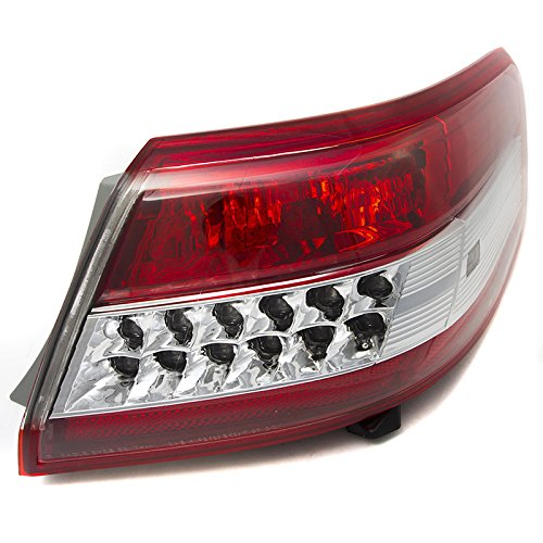 - CarPartsDepot TO2805106 Rear Facial Tail Brake Light Lamp Passenger Fit 2010-2011 Toyota Camry