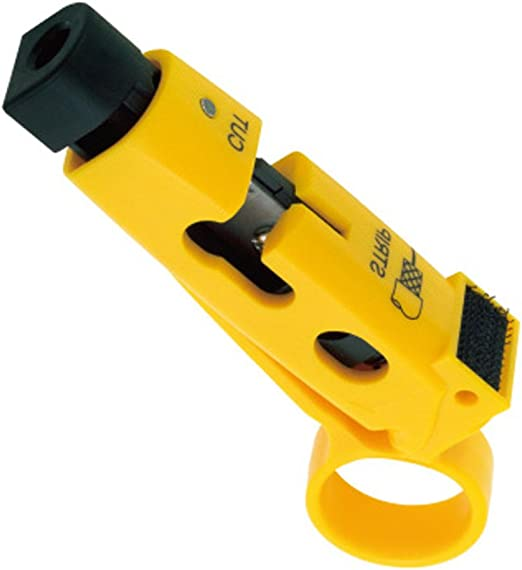 Universal Cable Wire Jacket Stripper Cable Cutter Stripping Scissors Tool RG59