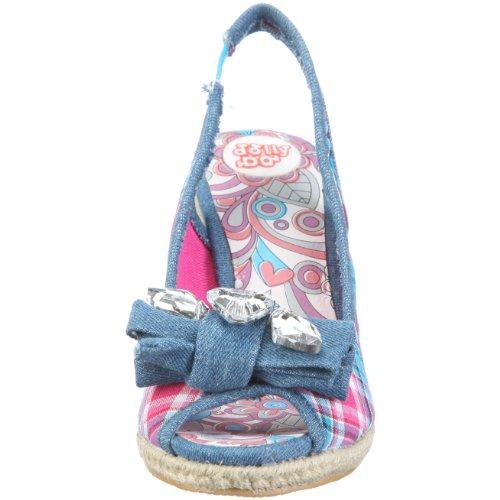 Dolly Do Sandal 52064 Damen Sandalen/Fashion-Sandalen Blau/Blue Table