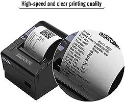 Aibecy HOIN 80 mm impresora de recibos térmicos con cortador ...