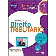 Manual de direito tributário - 11ª edição de 2019