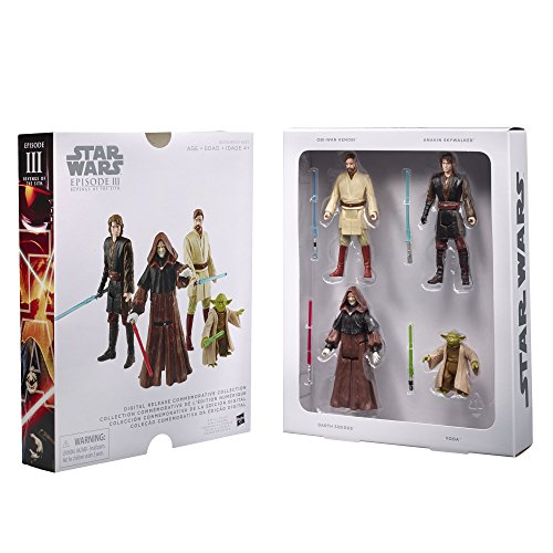 Star Wars Commemorative Collection Episode III Revenge of - Star Wars Episode Iii Toys