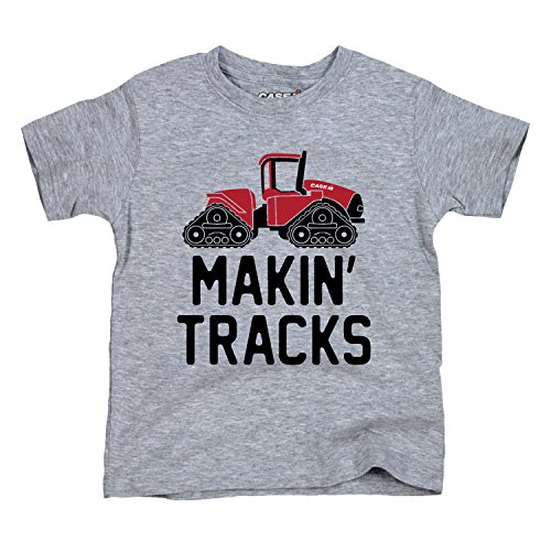 - Makin Tracks - CASE IH Toddler Short Sleeve Tee Athletic Heather