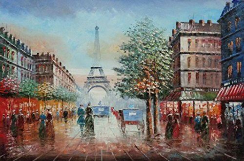 Paris France Oil Painting - BeyondDream Oil Painting 24