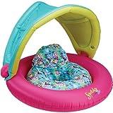 Speedo Kids' Begin to Swim Fabric Baby Cruiser with Canopy, New Pink, One Size