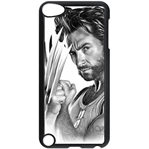 Wolverine Ipod Touch 5 Black Cell Phone Case For Women