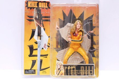 NECA Kill Bill 7 Inch Action Figure The Bride by Reel Toys