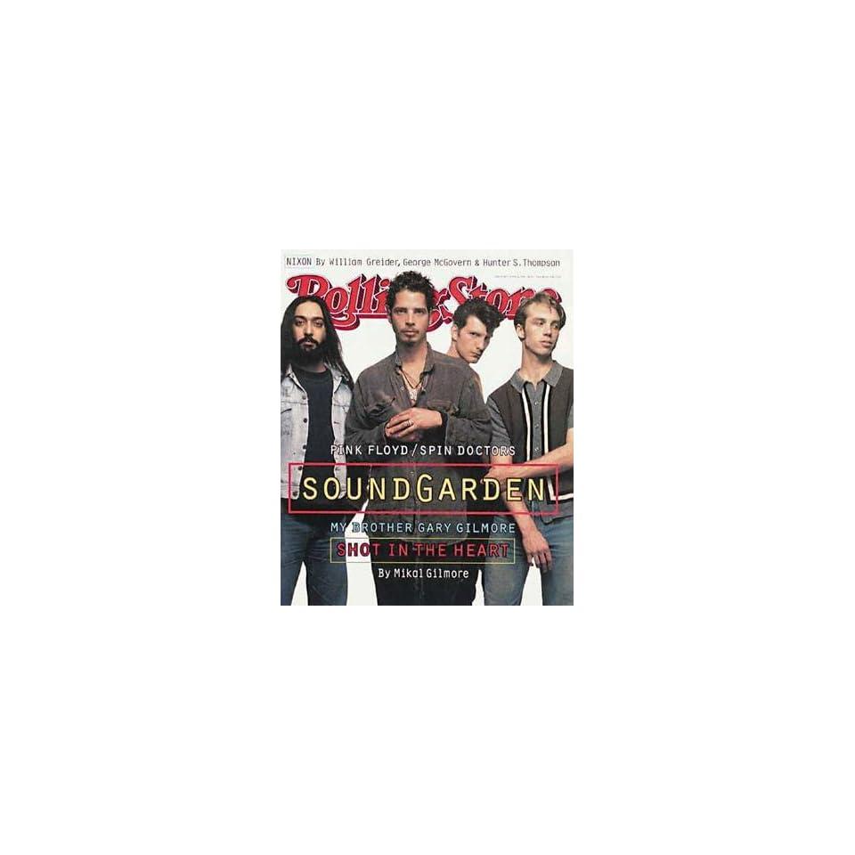 Rolling Stone Magazine, Issue 684, June 1994, Soundgarden Cover