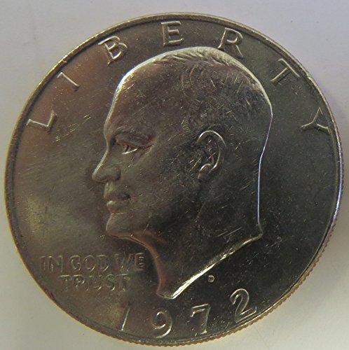 - 1972 D Eisenhower Dollar Choice Uncirculated