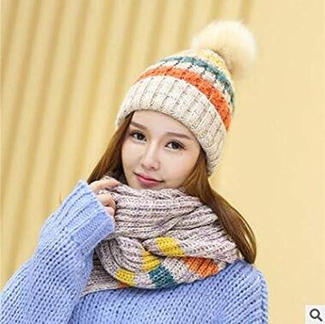 62ab91d72e6 Amazon.com : 2019 winter Sale New Fashion 1Set Women Warm Woolen ...