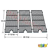 cast iron bbq grids - bbq factory® Replacement Porcelain coated Cast Iron Cooking Grid Grate JGGX193 for Perfect Flame Master Forge Jenn Air and others, Set of 2