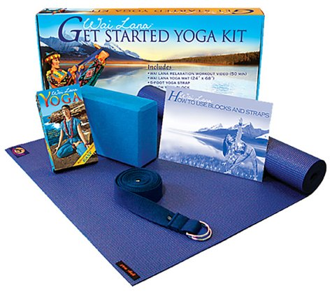 Amazon.com: Wai Lana Yoga: Get Started Yoga Kit: Movies & TV