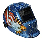 Solar Auto Darkening Eagle Welding Protective Helmet Mask