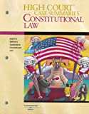 High Court Case Summaries on Constitutional Law, Blatt, Dana, 0314161341