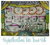 Sophisticated Tea Time Set - 25 Piece Tea Party Set