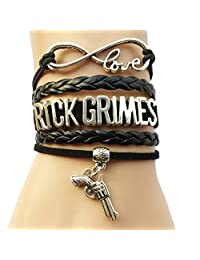 The Walking Dead Rick Grimes and Daryl Dixon Bracelet- 3 Styles