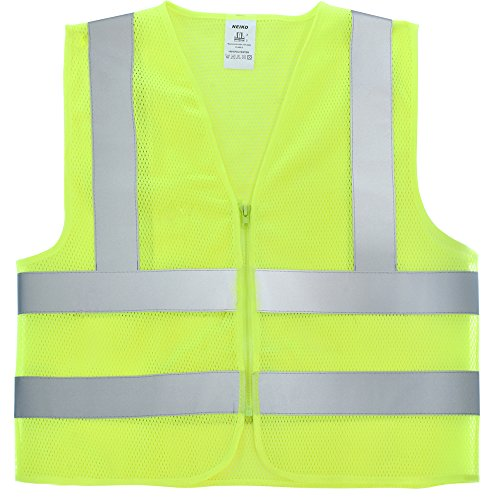 Neon Green Safety Vest - 3