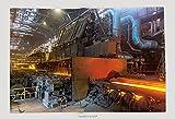 Supersoft Fleece Throw Blanket Hot Rolling Steel Line, Industrial Plant, Cherepovets, Russia_458866313