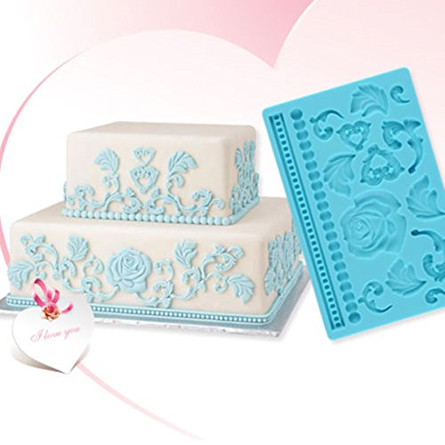 Classical Popular Silicone Mold Rose Decorating Cake Tools Chocolate Candy Ice Cupcake Vintage Kit Set Flower Fondant Mould Supplies DIY Tips Muffin Cream Shape Decorations Toppers Tool Gift