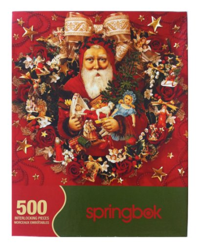 Buy springbok wreaths jigsaw puzzle 500-piece
