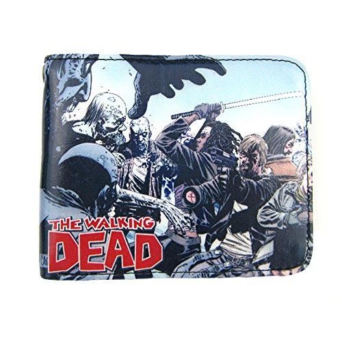 Wallet Men Walking Dead Scene Battle Wallet Men's The Bifold 8PqAnqH