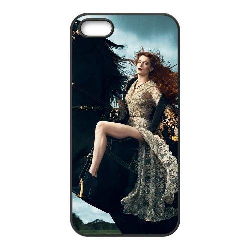 Florence + The Machine 005 coque iPhone 5 5S cellulaire cas coque de téléphone cas téléphone cellulaire noir couvercle EOKXLLNCD23707