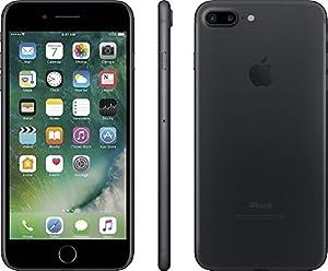 Apple iPhone 7 Plus, GSM Unlocked, 256GB - Black (Certified Refurbished)