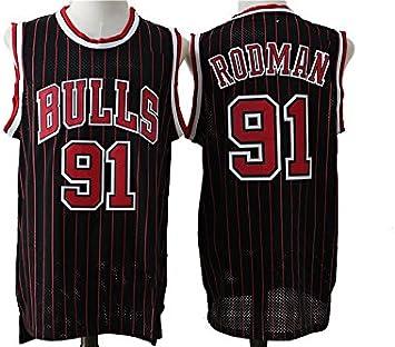 Black//Stripe Chicago Bulls Dennis Rodman