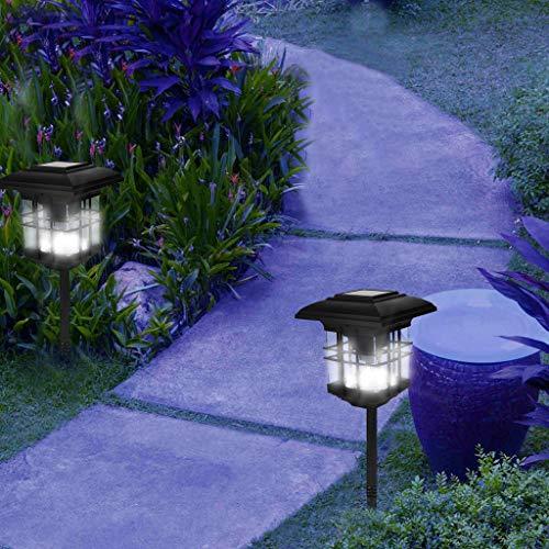 (Solar Post Light Fixture, Sunsee 2 Pcs Solar Post Light Outdoor Lights Deck Garden Fence Lanscape Lamp for Outdoor Garden Patio Driveway Yard)
