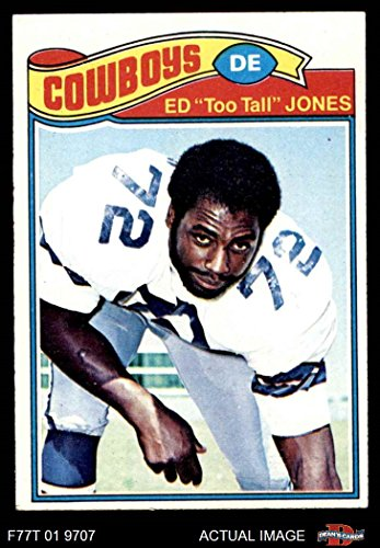 1977 Topps # 314 Ed Too Tall Jones Dallas Cowboys (Football Card) Dean's Cards 5 - EX Cowboys ()