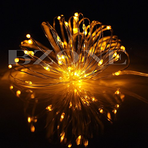 Outdoor String Lights Philippines: BZONE Yellow Battery Operated LED Fairy Light String