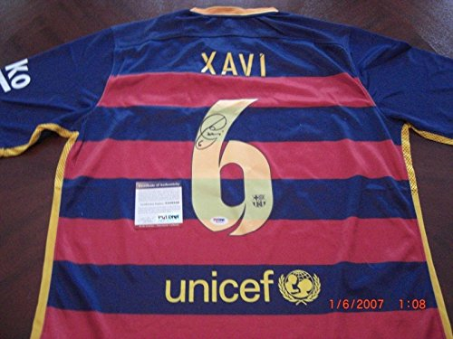 competitive price 79fd5 ac50a free shipping 2014 15 fc bacelona 6 xavi home soccer shirt ...