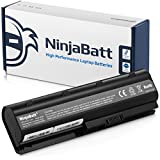 NinjaBatt Laptop Battery for HP 593553-001 593554-001 636631-001 593550-001 593562-001 584037-001 HSTNN-LB0W MU09 G62 HSTNN-UB0W High Performance [6 Cells/4400mAh/48wh]
