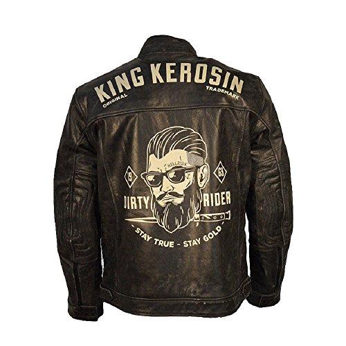 Camicia Uomo King Giacca Kerosin Nero qEFnzTtS