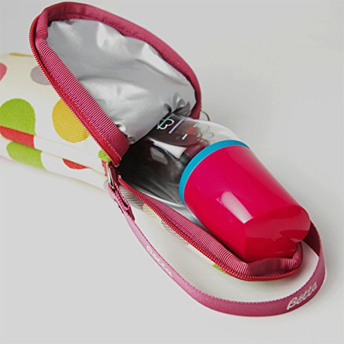 Dr. Betta Insulated Bottle Tote - Polka dots by Dr. Betta (Image #4)