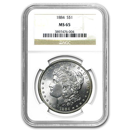 1884 Morgan Dollar MS-65 NGC $1 MS-65 NGC