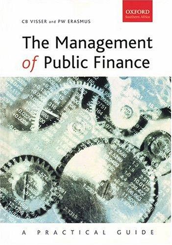 Management of Public Finance: A Practical Perspective PDF