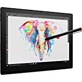 2018 Flagship Lenovo ThinPad X1 Business 12' FHD+ IPS Touchscreen Laptop, Intel Core m7-6Y75 8GB DDR3 256GB SSD Fingerprint Reader HDMI WLAN USB Type-C Win 10 Pro W/Detachable Keyboard and Stylus Pen