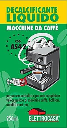 Elettrocasa Descalcificador líquido para cafeteras Caffà ¨: Amazon ...