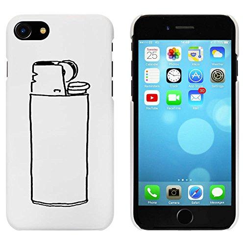 Azeeda White 'Lighter' Case / Cover for iPhone 7 (MC00165524)