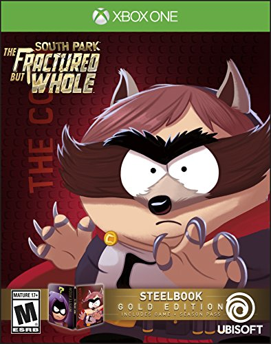 South Park: The Fractured But Whole SteelBook Gold Edition (Includes Season Pass subscription) - Xbox One from Ubisoft