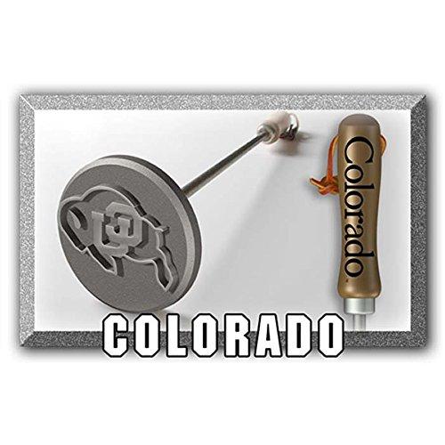 Colorado Buffaloes BBQ Branding Iron   BBQファン B01M230F1G