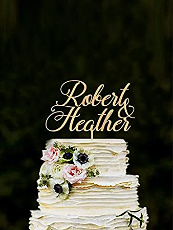 Personalisierte Hochzeit Tortenaufsatz Braut Und Brautigam Paar