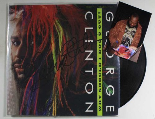 George Clinton Signed Autographed