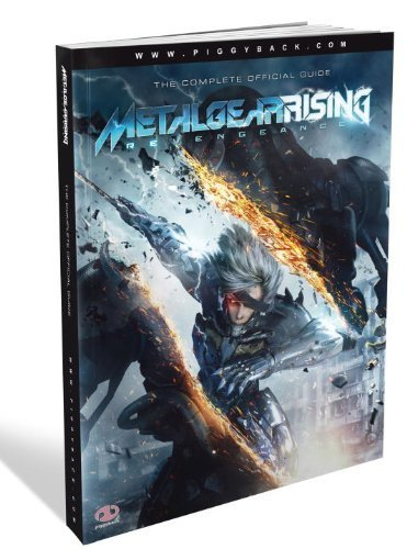 (Metal Gear Rising: Revengeance The Complete Official Guide by Piggyback (unknown Edition) [Paperback(2013)])