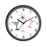 CafePress – It's 5 o'clock Somewhere Wall Clock – Unique Decorative 10″ Wall Clock Review