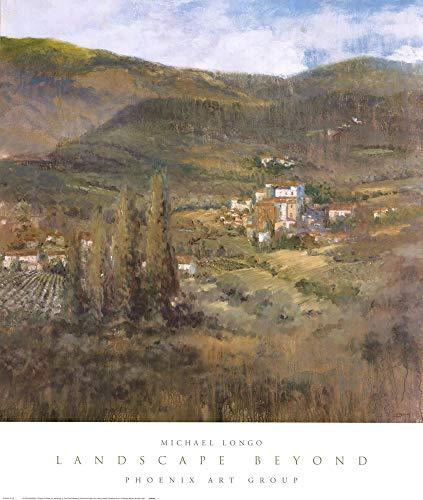 Landscape Beyond by Michael Longo Art Print, 27 x 32 - Landscapes Art Longo
